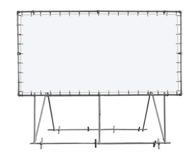 Freistehende XXL Rahmen 3x2m