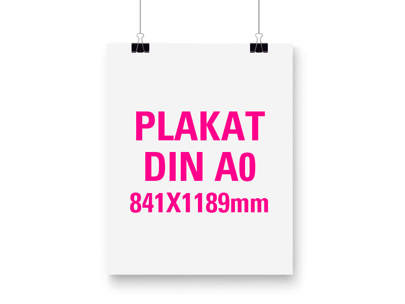 Plakat DIN A0