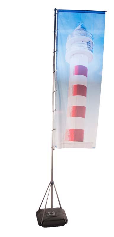 Mobiler Fahnenmast Flagpole 540