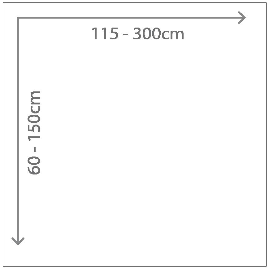 Alu-Verbund-Platte | individuelle Größe ab 115cm