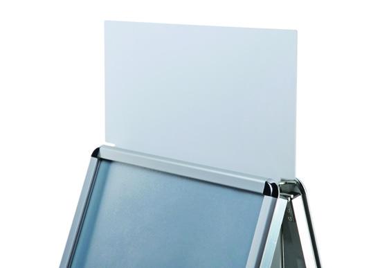 Topschild für Kundenstopper