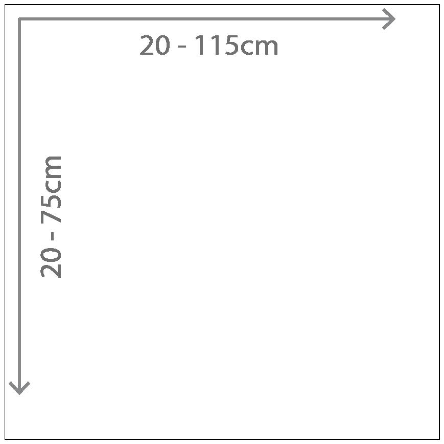 Alu-Verbund-Platte | individuelle Größe bis 115cm